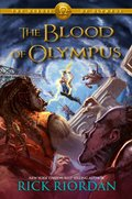 Cover image for Heroes of Olympus, Book Five The Blood of Olympus
